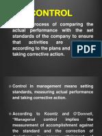Control - PPT