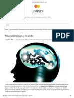 Neuropsicología y deporte _ UPAD
