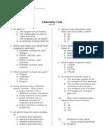 41956738 Chemistry Test Atoms