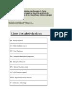 Mise-En-place Un Data WareHouse Et Une Applicaion de WebMapping Pour La Gestion de Réseau Routier