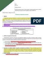 Sánchez-Palomino y Villegas-Lirola (1997) Cap 7. Deprivacion sociocultural (1)