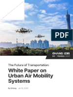 EHang White Paper on Urban Air Mobility Systems