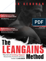 The Leangains Method The Art of Getting Ripped. Researched, Practiced, Perfected- Martin Berkhan.pdf