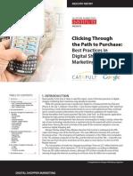 Best Practices in Digital Shopper Marketing