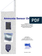 IRC Ammonia Sensor Overview (TOC)