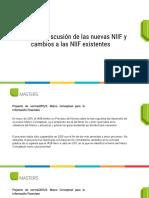 Resumen y discusión de las nuevas NIIF y cambios a las NIIF existentes (1)