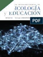 Revista Psicología y Educación Vol. 21, núm. 1