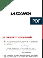 1. LA FILOSOFÍA