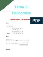 Tema 2 Polinomios