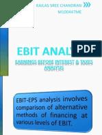 EBIT-EPS Analysis