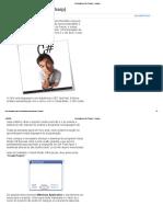 Introdução ao C# (CSharp) - Pplware.pdf