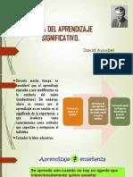 Aprendizaje significativo, TEORÍAS, PRINCIPIOS Y ENFOQUES VINCULADOS A LA PRÁCTICA PEDAGÓGICA , David Ausubel,