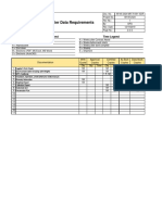 Supplier Data Requirements
