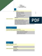 A.E.C - Principios e Planificação anual -3º Ano