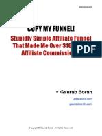 Simple Affiliate Funnel