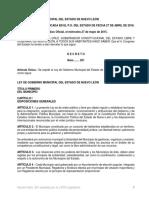 LEY DE GOBIERNO MUNICIPAL DEL ESTADO DE NUEVO LEON