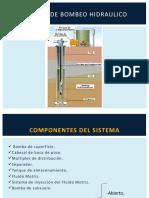 sistema levantamiento tipo hidraulico