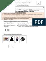 Examen Quimestral 8a