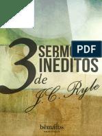 Tres Sermones Inéditos de J. C. Ryle