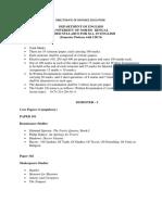 M.A. Revised Syllabus English