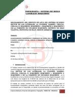 Informe Topografia Laterales Boquerón pdf