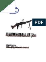 Ametralladora MAG cal. 7,62 mm.