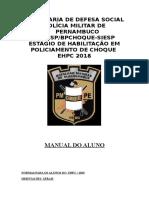 NORMAS PARA OS ALUNOS DO  EHPC