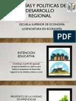 Teorías y políticas de desarrollo-presentacióncurso