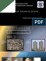 ARQUITECTURA  PERUANA DE 80-90 exp.pptx