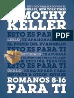 KELLER, Tim (2018). Romanos 8-16 para ti