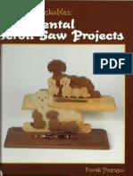 Ornamental Scroll Saw Projects