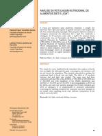 ANÁLISE DA ROTULAGEM NUTRICIONAL DE ALIMENTOS DIET E LIGHT.pdf