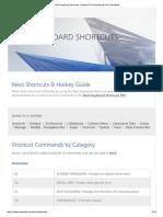 Revit Keyboard Shortcuts, Hotkeys & Commands Guide _ Autodesk
