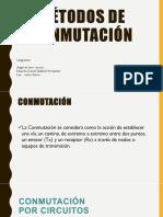 metodos de conmutacion