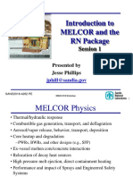PPT-Introduction to MELCOR and the RN Package
