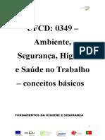 Manual Ambiente, Higiene e Segurança no trabalho.doc