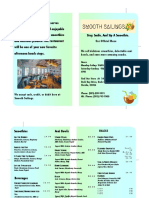 restaurant menu     2