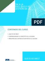 CURSO INTRODUCCIÓN A ISO 9001 Y SISTEMA DE GESTION DE CALIDAD para Servicios Generales.pptx