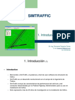 1. SIMTRAFFIC Introduccion