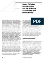 [Austin, Larry] Sound Diffusion in Composition and Performance