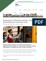 Segurança no transporte escolar_ medidas preventivas