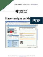 Hacer Amigos en MySpace