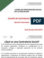 PRESENTACIÓN CONTRALORÍA SOCIAL CEPS FEB 2016
