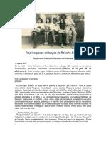 Tras los pasos chilangos de Roberto Bolaño