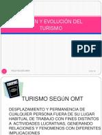 ORIGEN-EVOLUCIÓN Y CONCEPTOS IMPORTANTES DE TURISMO-- REVISADO