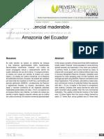 Jadán et al 2015. Potencial maderable Napo - copia.pdf