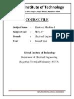 course file Sample