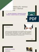 Ventaja absoluta, ventaja comparativa y ventaja competitiva wilfran hernandez completa.pptx