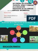 PDF-Evolucion de la educacion pedagogia.pptx