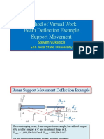 160.8.8 Virtual Work for Beams example support